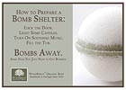 Fizzing Bath Bomb - Get Bombed Shelf Talker - 5x7