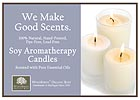 Soy Candles Good Scents Shelf Talker - 5x7