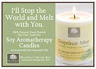 Soy Candles Melt With You Shelf Talker - 5x7