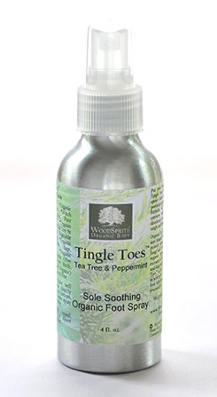 Tingle Toes Soothing Organic Foot Spray