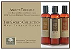 Sacred Collection Massage Oils Shelf Talker - 5x7