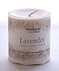 "Lavender 3 x 3"" Soy Pillar Candle"