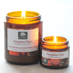 Pumpkin Chai Soy Aromatherapy Candles - LIMITED EDITION