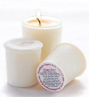 Ginger Glow Soy Aromatherapy Votive