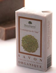 Lemongrass & Sage Organic Soap